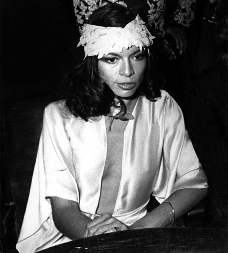 Bianca Jagger Young | clubfashionista2