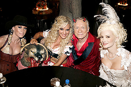 playboy villa halloween party