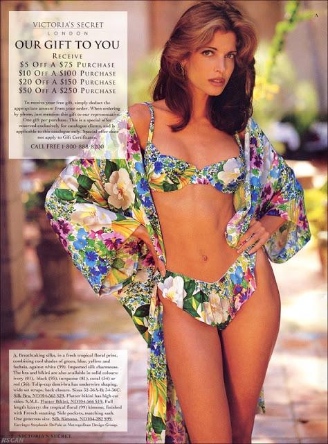 Stephanie Seymour For Victoria Secret Clubfashionista2