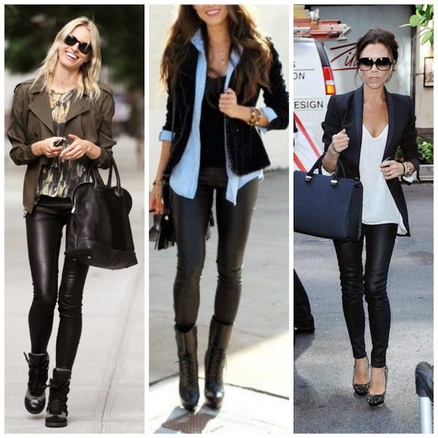 Your Leather Leggings: What to Wear?