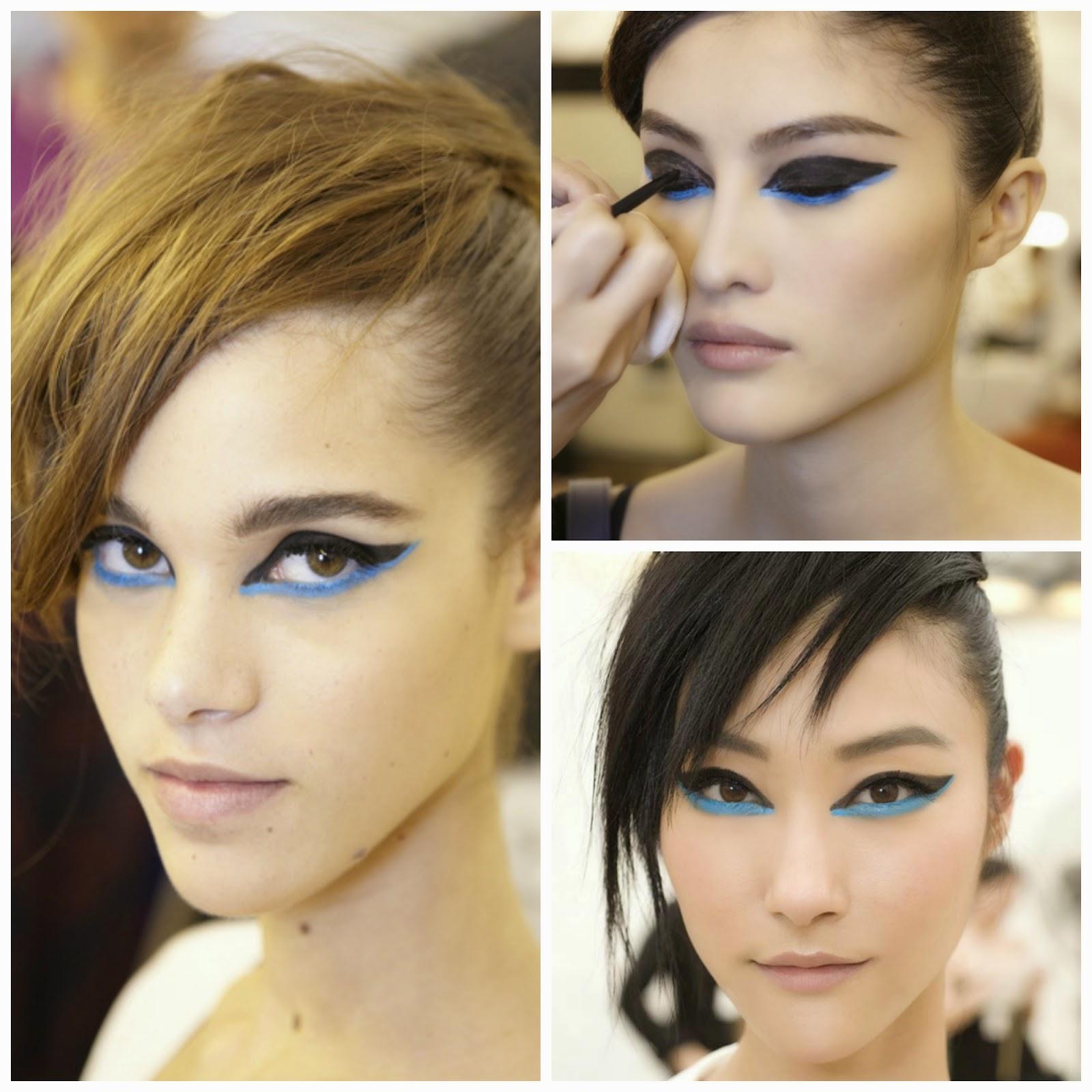 How to wear blue eye makeup tutorial clubfashionista2 chanel 2014 resort collectionturquoise eye baditri Images