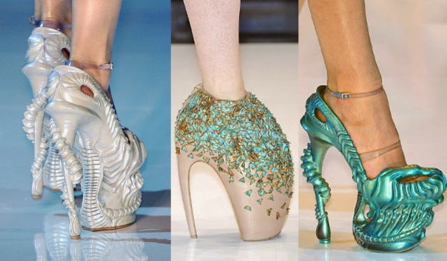 Alexander McQueen Armadillo and Alien Shoes 159b787a5