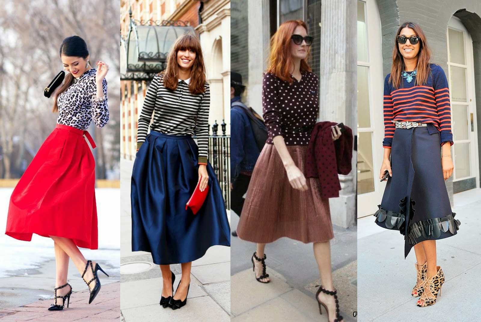 Midi Skirts for the Fall | clubfashionista2
